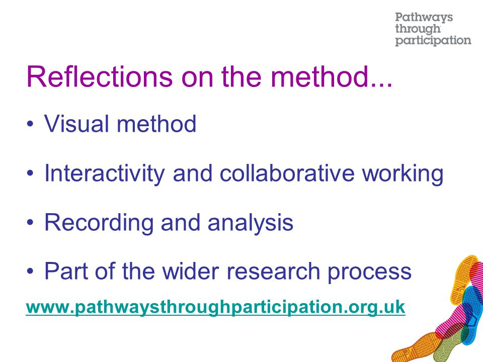 Reflections on the method...