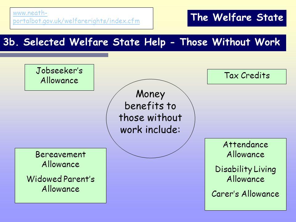 The Welfare State 3b.