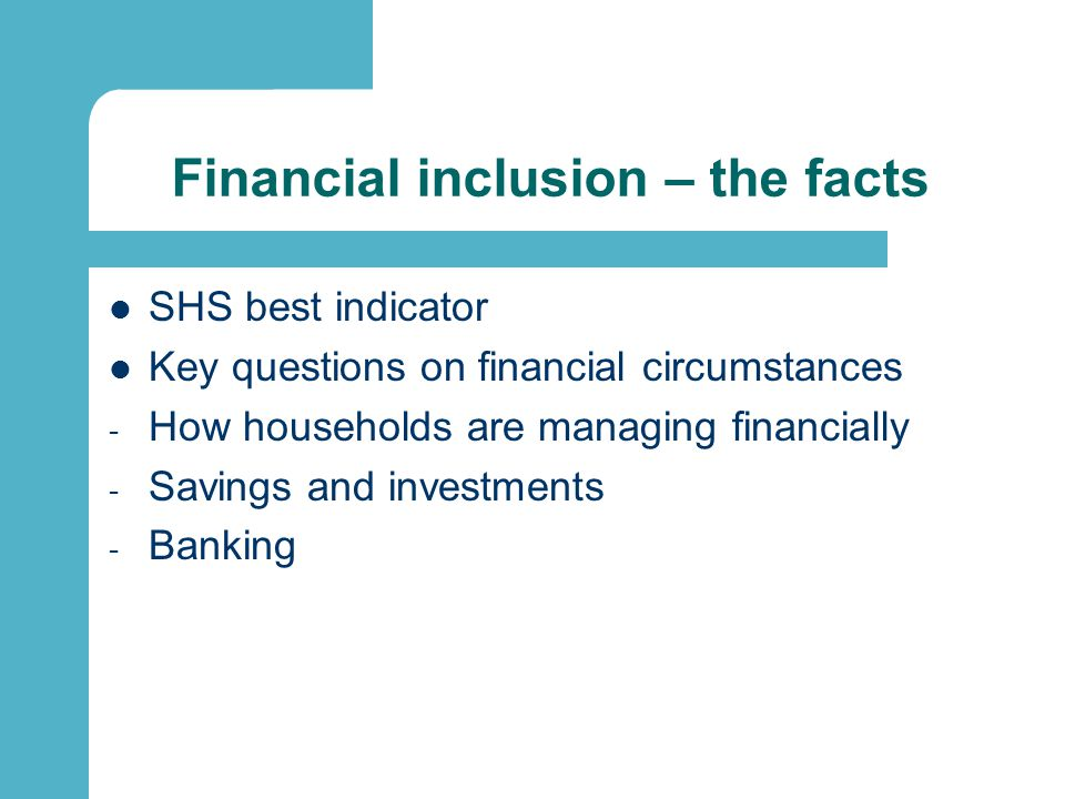 How are households managing financially?