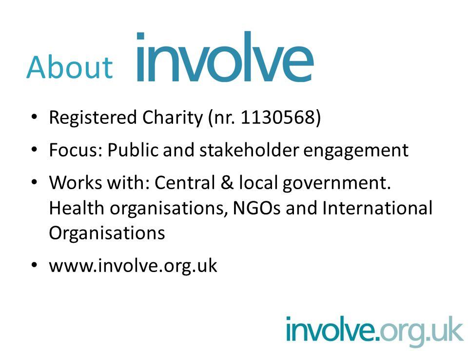 Registered Charity (nr.