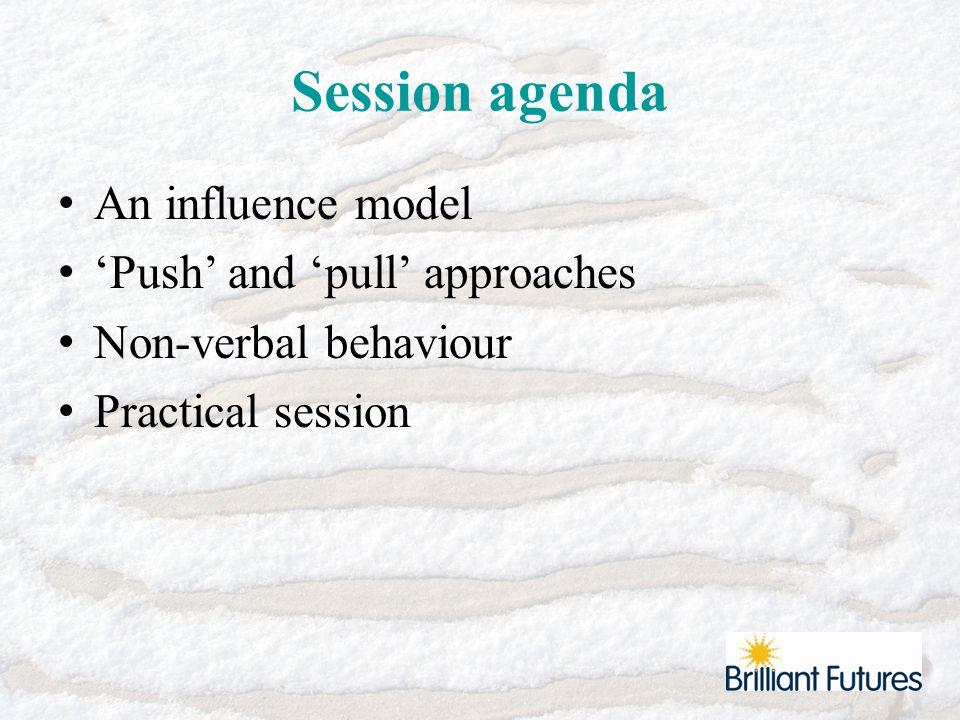 Influence Model Proposing EmpathisingDisclosing Asserting