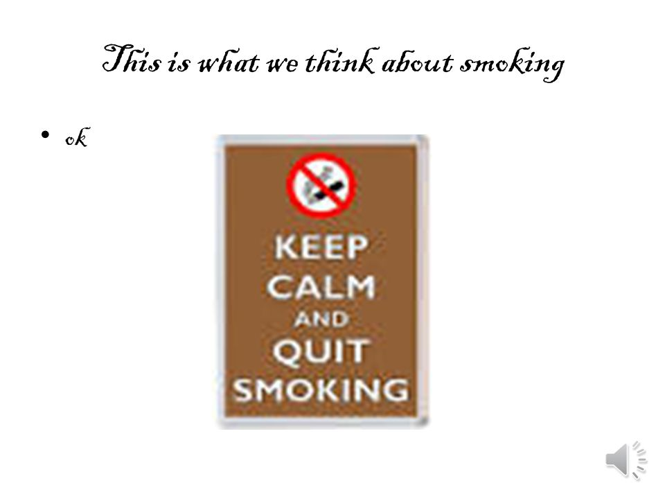 How smoking harms you Smoking can give you bad breath, smelly hair, brain tumour, chronic, bronchitis, emphysema and Atheros