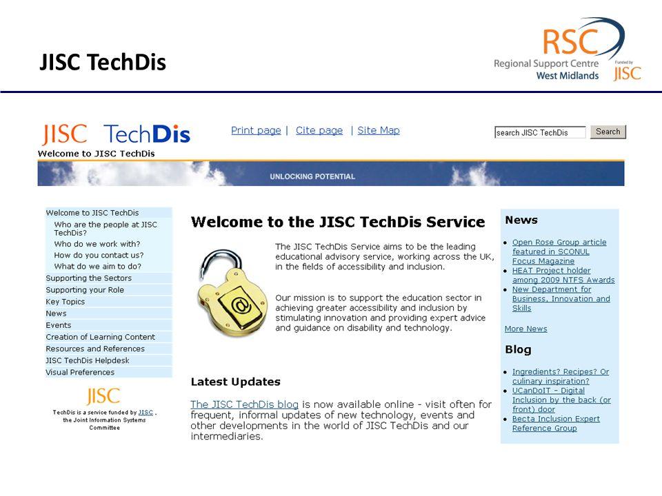 JISC TechDis