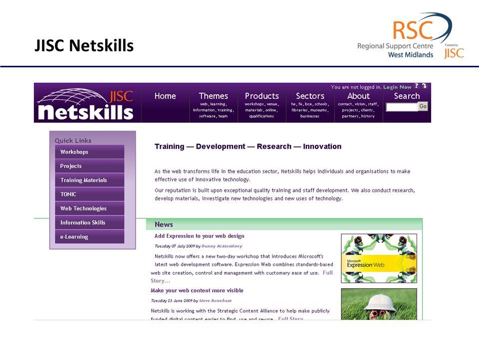 JISC Netskills