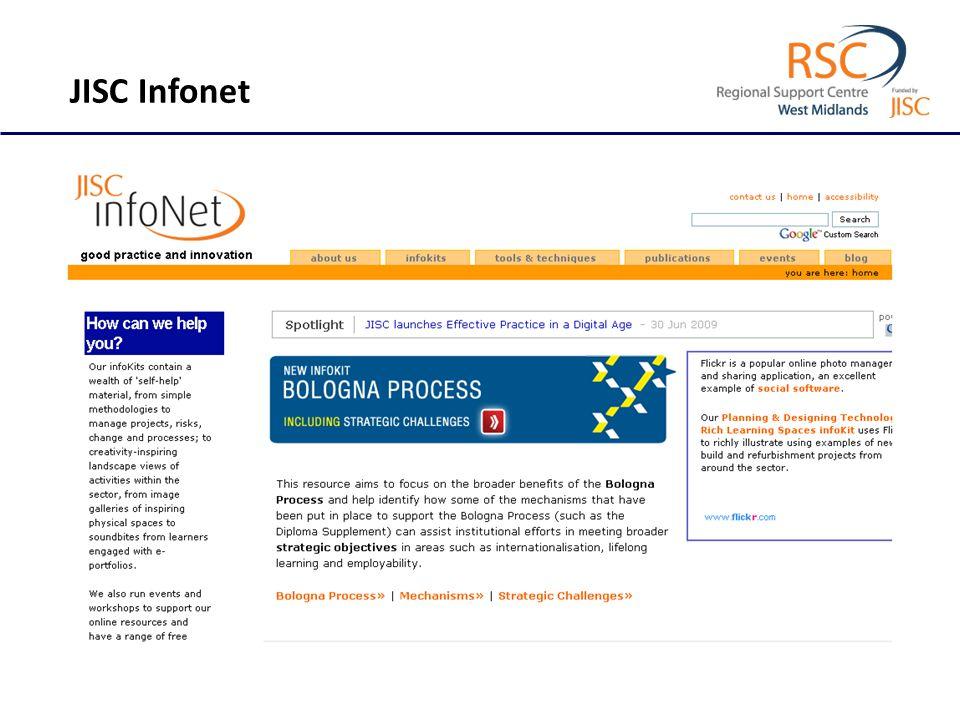 JISC Infonet