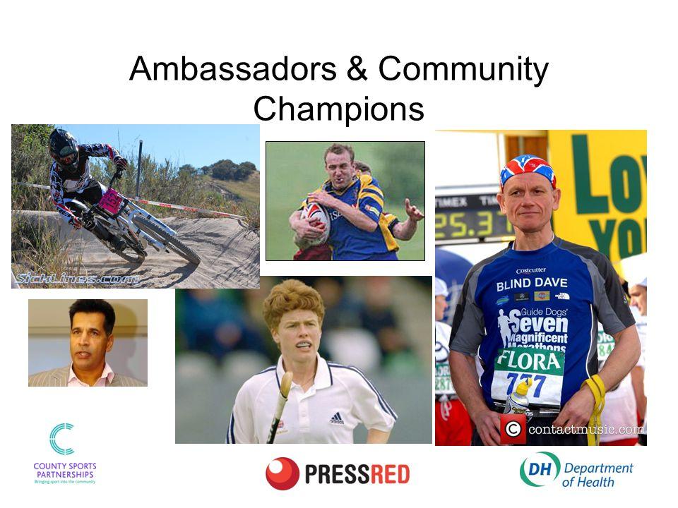 Ambassadors & Community Champions