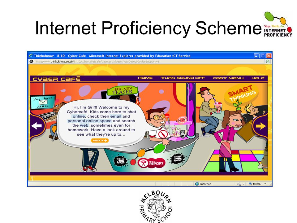 Internet Proficiency Scheme