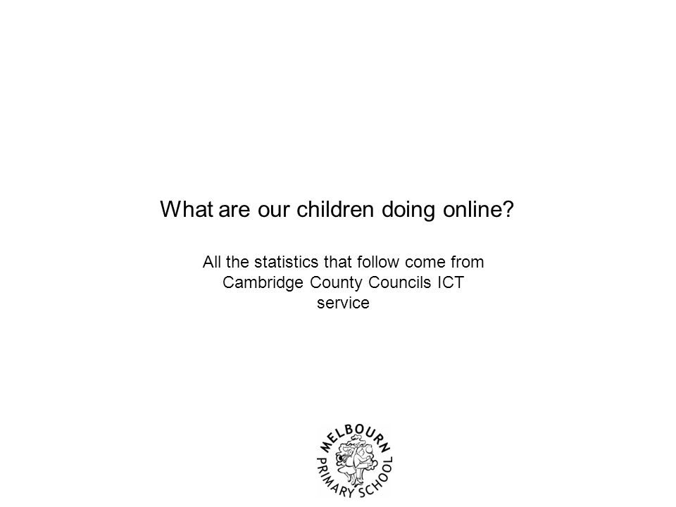 Question 1 What % of Year 6 children use the internet at home? a.49% b.63% c.78% d.94%