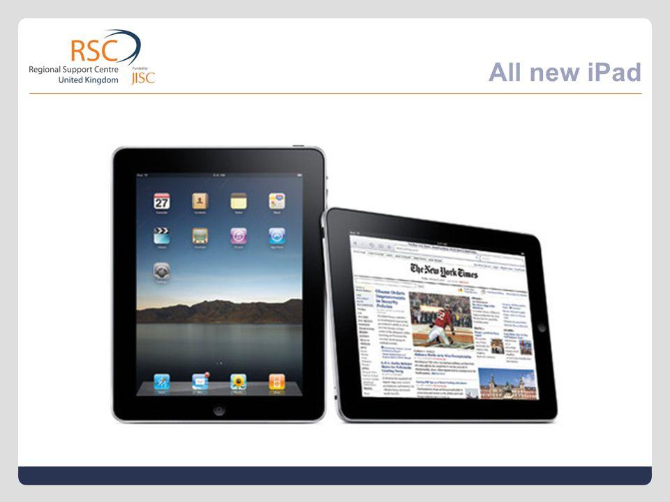 All new iPad