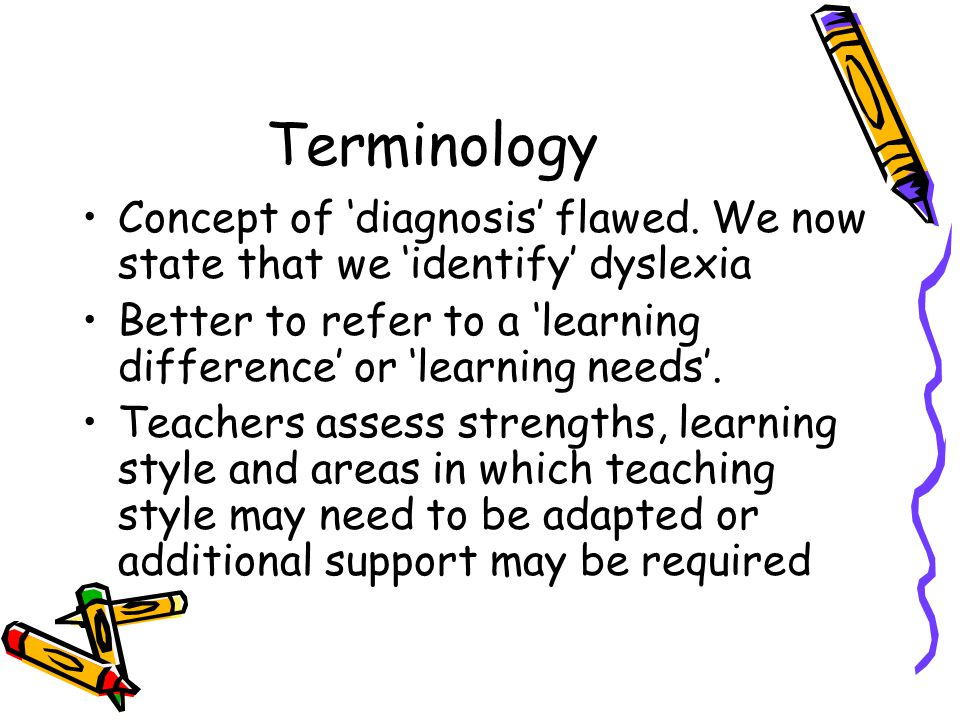 Terminology Concept of 'diagnosis' flawed.