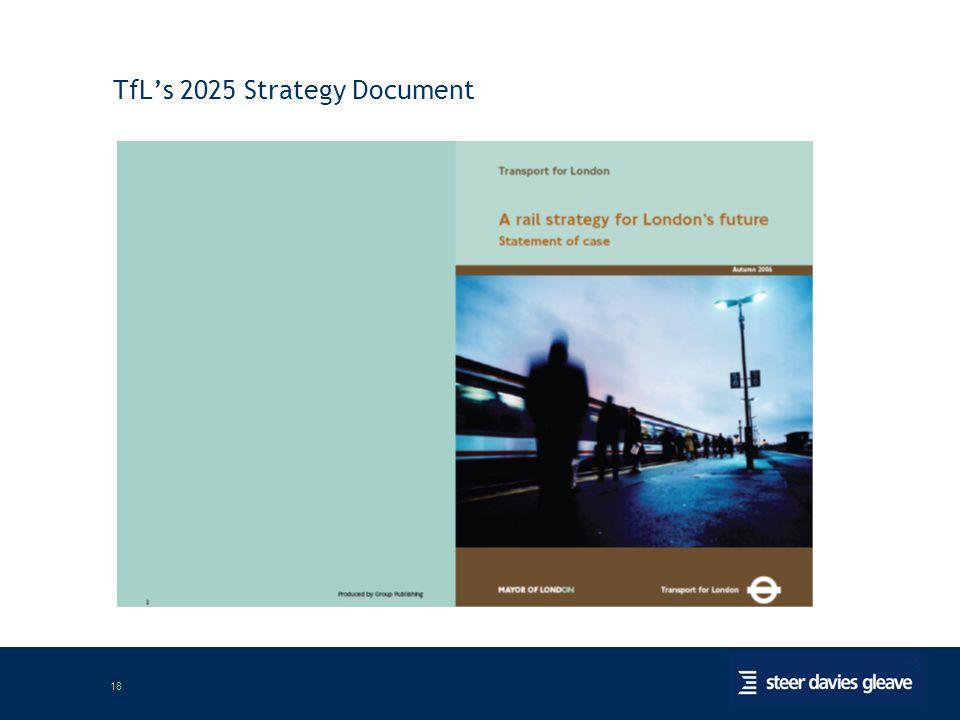 18 TfL's 2025 Strategy Document