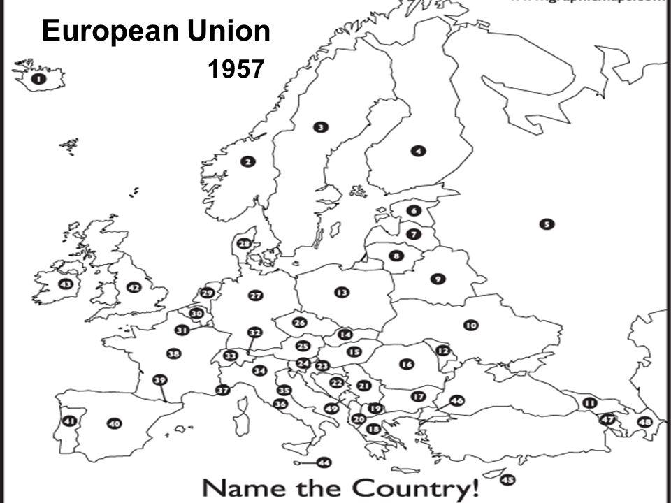 European Union 1957