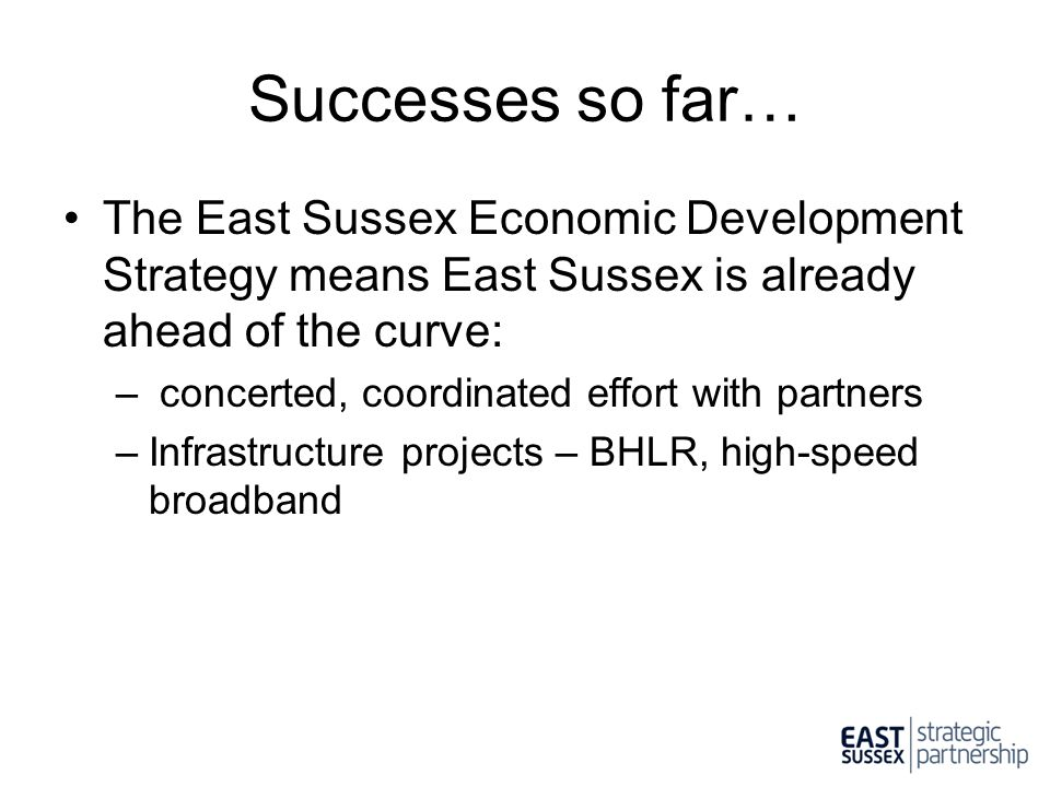 Next Steps Agreement across the board is difficult.
