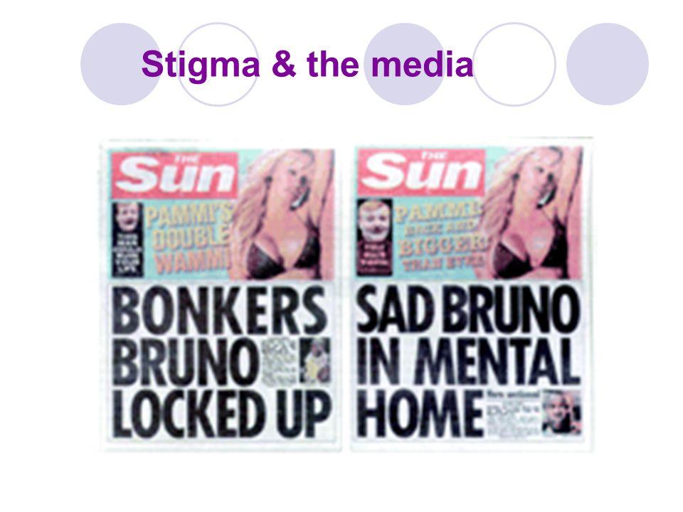 Stigma & the media