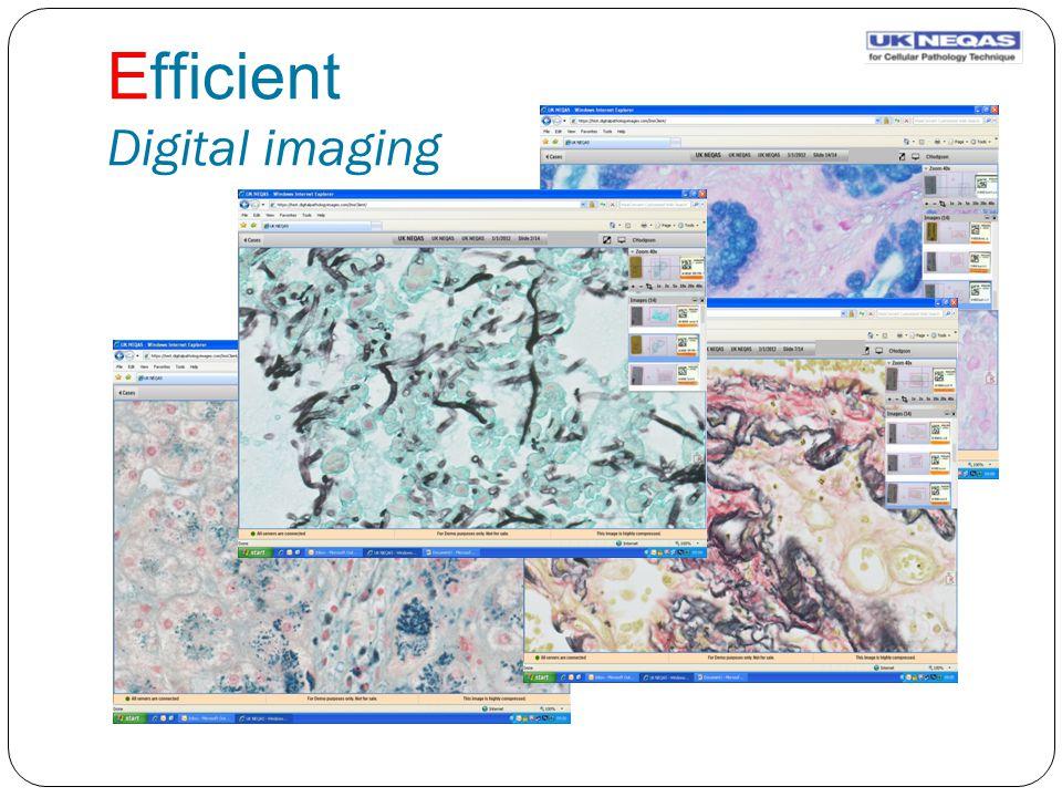Efficient Digital imaging