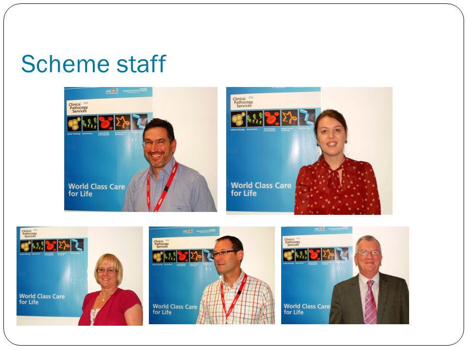 Scheme staff
