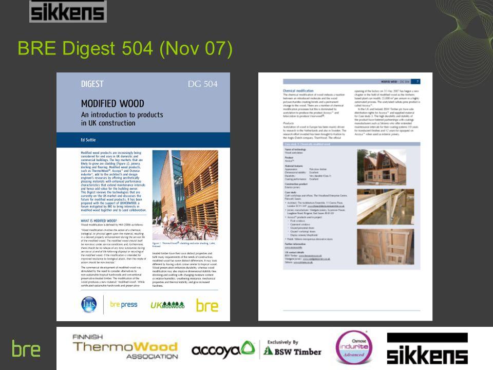 BRE Digest 504 (Nov 07)