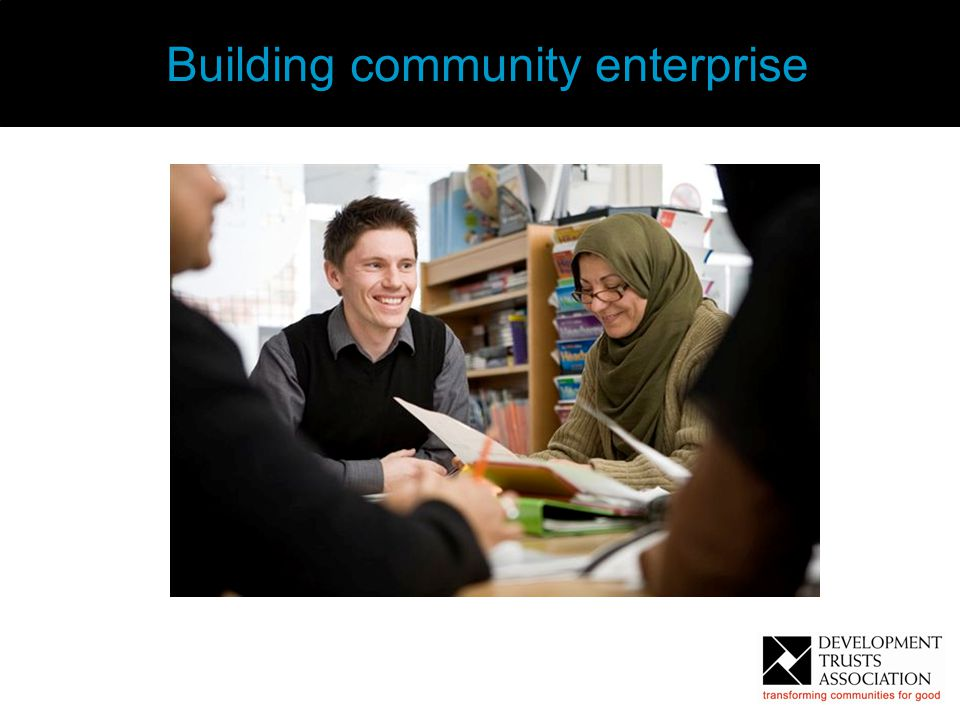 6 Building community enterprise