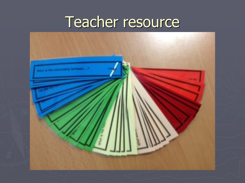 Teacher resource