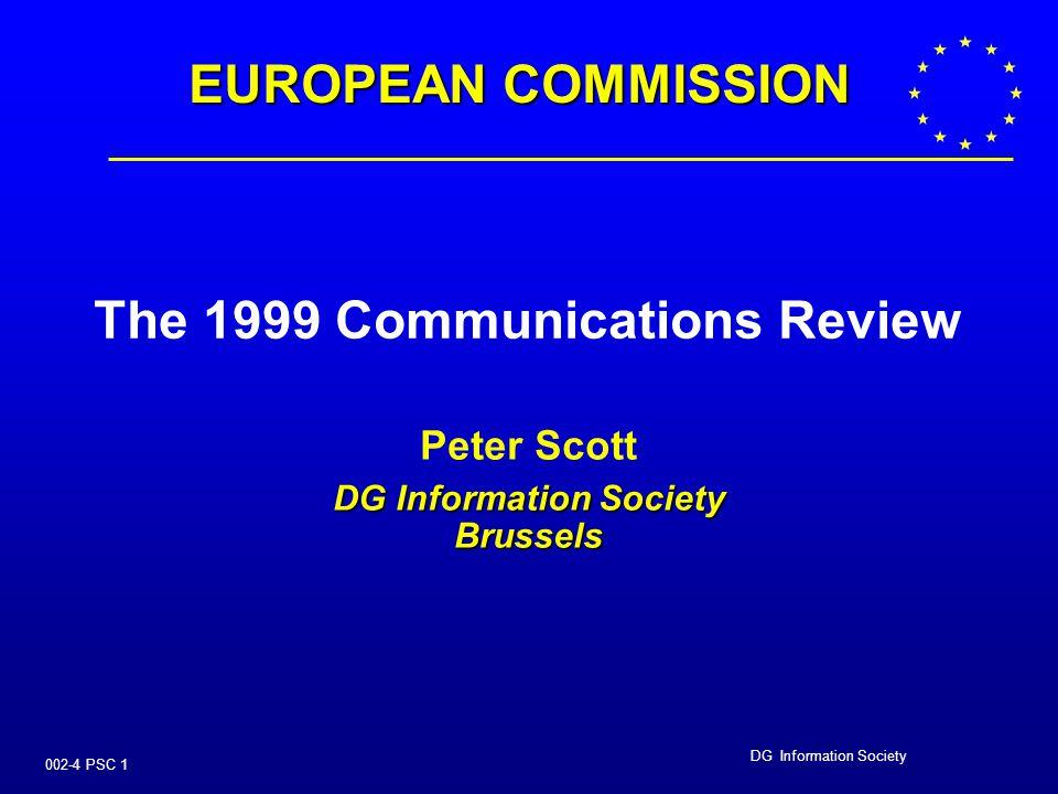DG Information Society 002-4 PSC 11