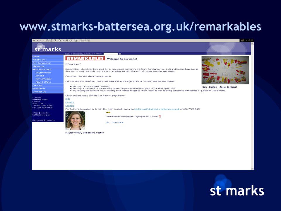 www.stmarks-battersea.org.uk/remarkables