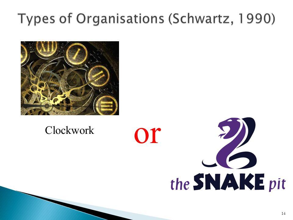 14 Clockwork or