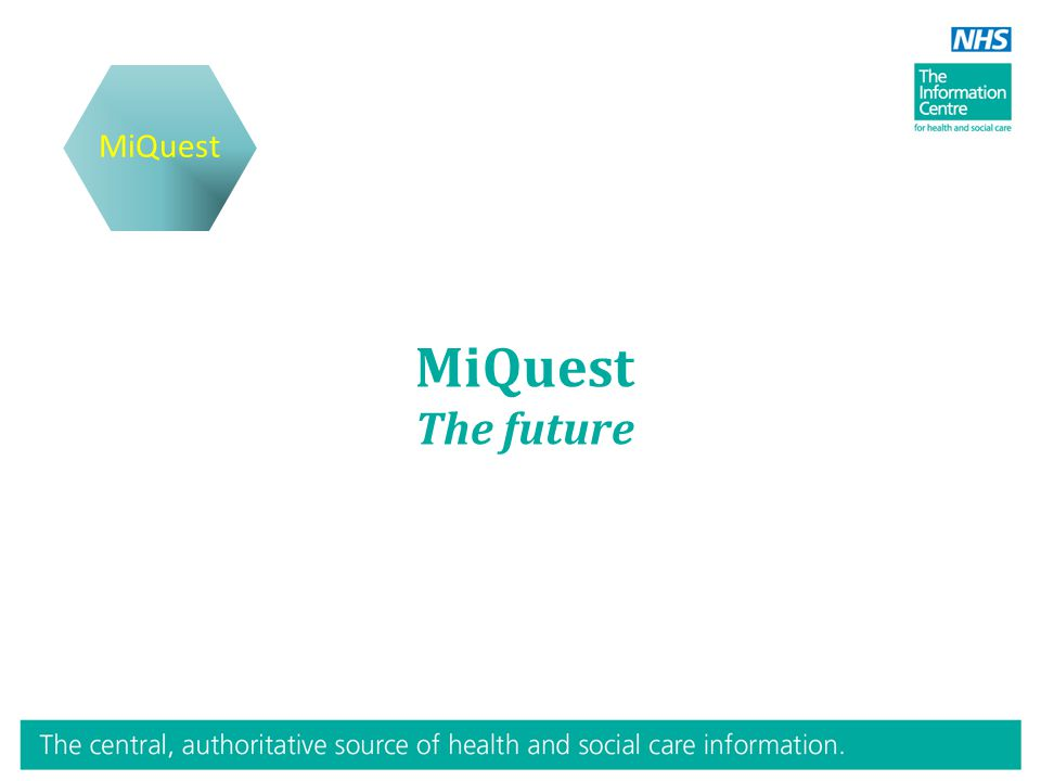 MiQuest The future MiQuest