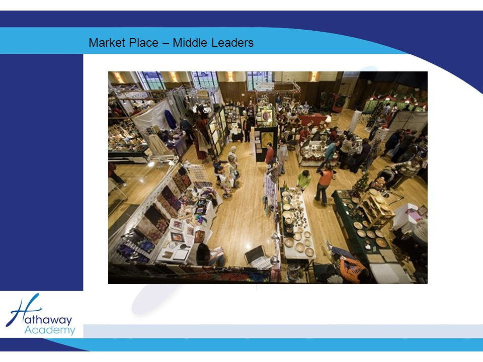 Market Place – Middle Leaders