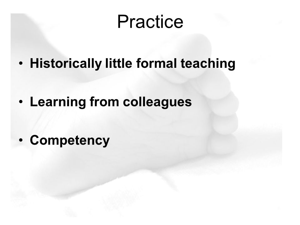 Problems Education & Training Variety of Techniques Staff rotation Working Practices Need to implement new practices Requests for repeat samples