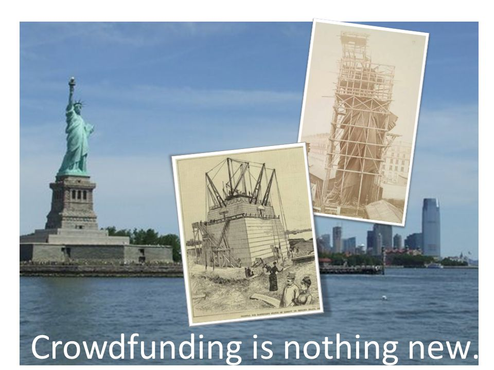 Ancient history…? Crowdfunding is nothing new…