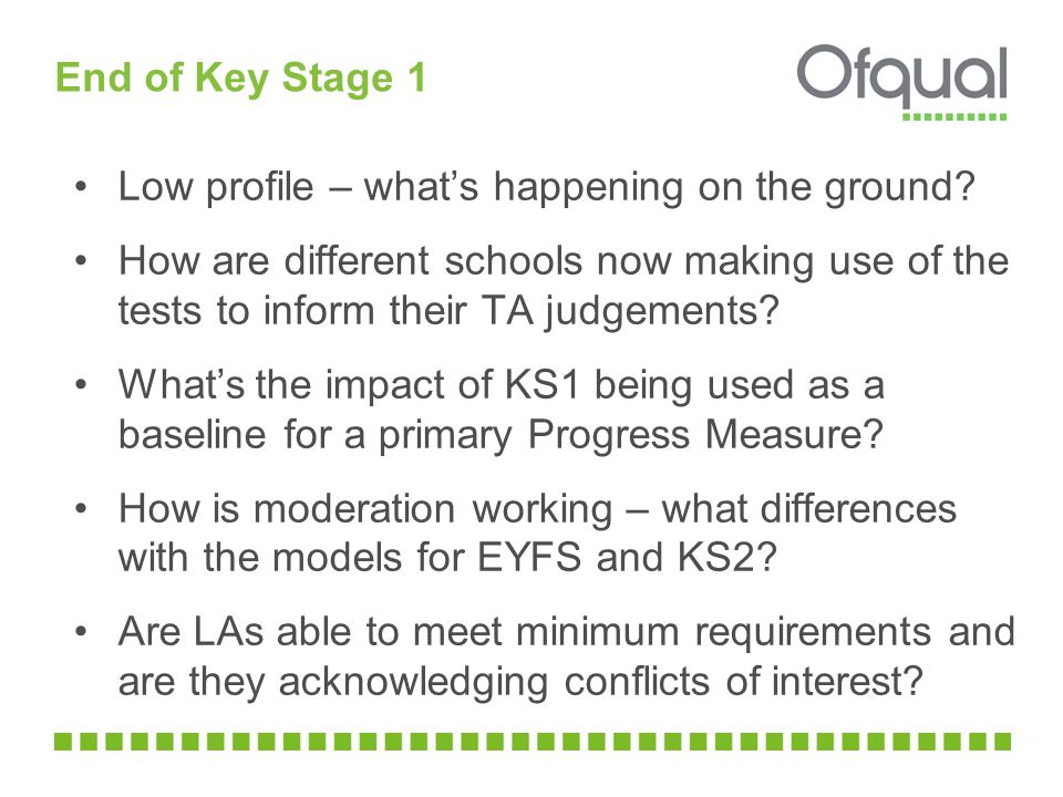 End of Key Stage 2 Strong improvements in results this year How did schools respond to external moderation of Writing TA in 2012.