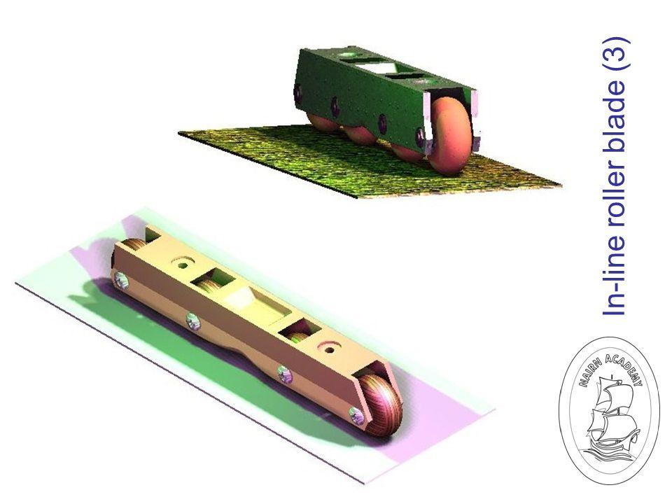 In-line roller blade (3)