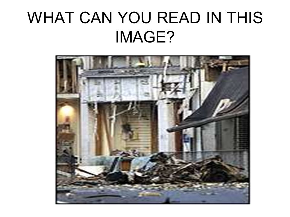 WHAT CAN YOU READ IN THIS IMAGE?