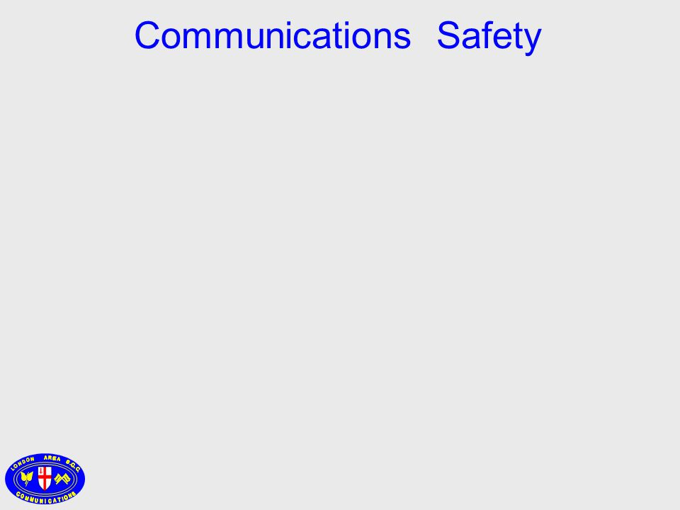 Communications Safety