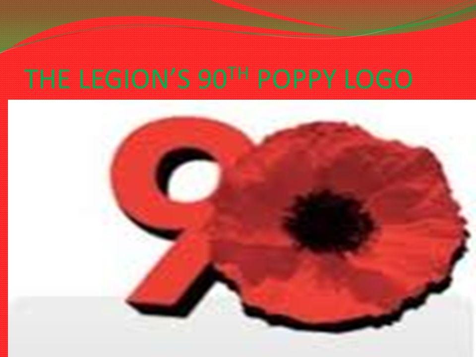 THE LEGION'S 90 TH POPPY LOGO 18