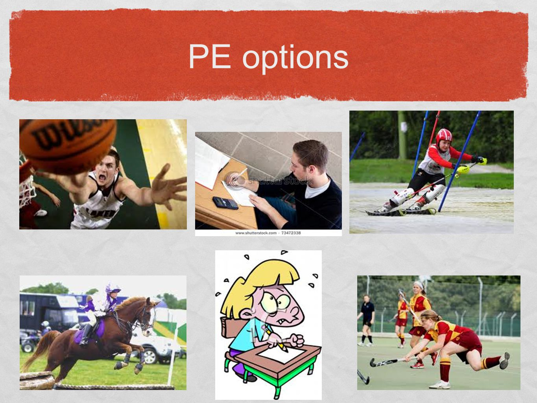 GCSE Physical Education BTEC Sport 2 options: