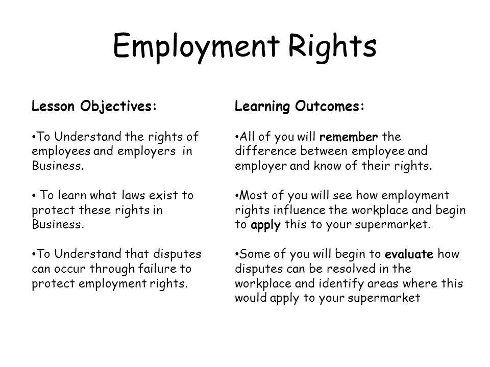Starter – Employee or Employer.