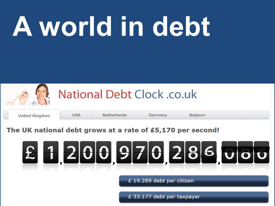 A world in debt