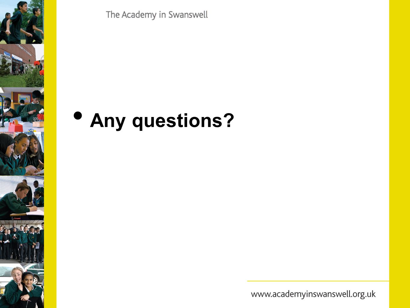 How can you get involved.Please consider the following questions……..