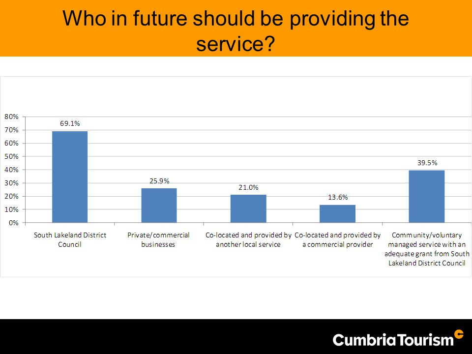 Who in future should be providing the service?