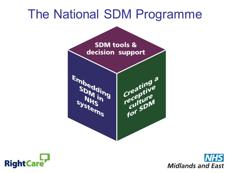 The National SDM Programme