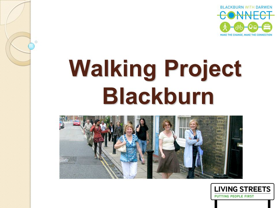 1 Walking Project Blackburn