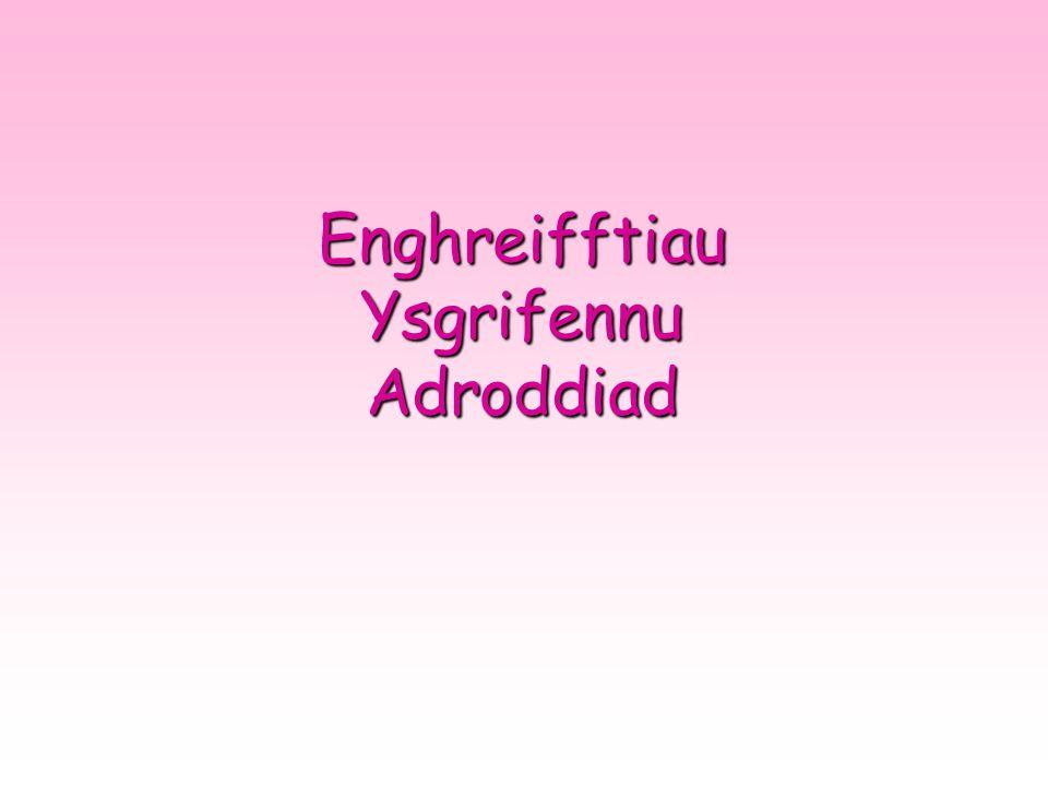 Enghreifftiau Ysgrifennu Adroddiad