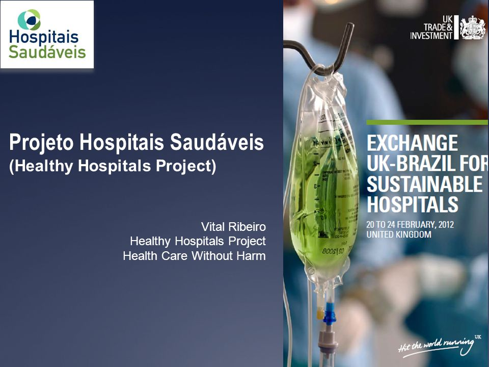Projeto Hospitais Saudáveis - PHS ( Healthy Hospitals Project)  A very new Brazilian organization  Started as an initiative of health professionals in 2008  Formally constituted in early 2010 as a non-profit, non- governmental organization  Based in São Paulo, acting nationally  Focal point of HCWH in Brazil www.hospitaissaudaveis.org 2
