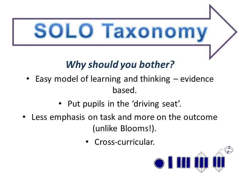 Why should you bother. Easy model of learning and thinking – evidence based.