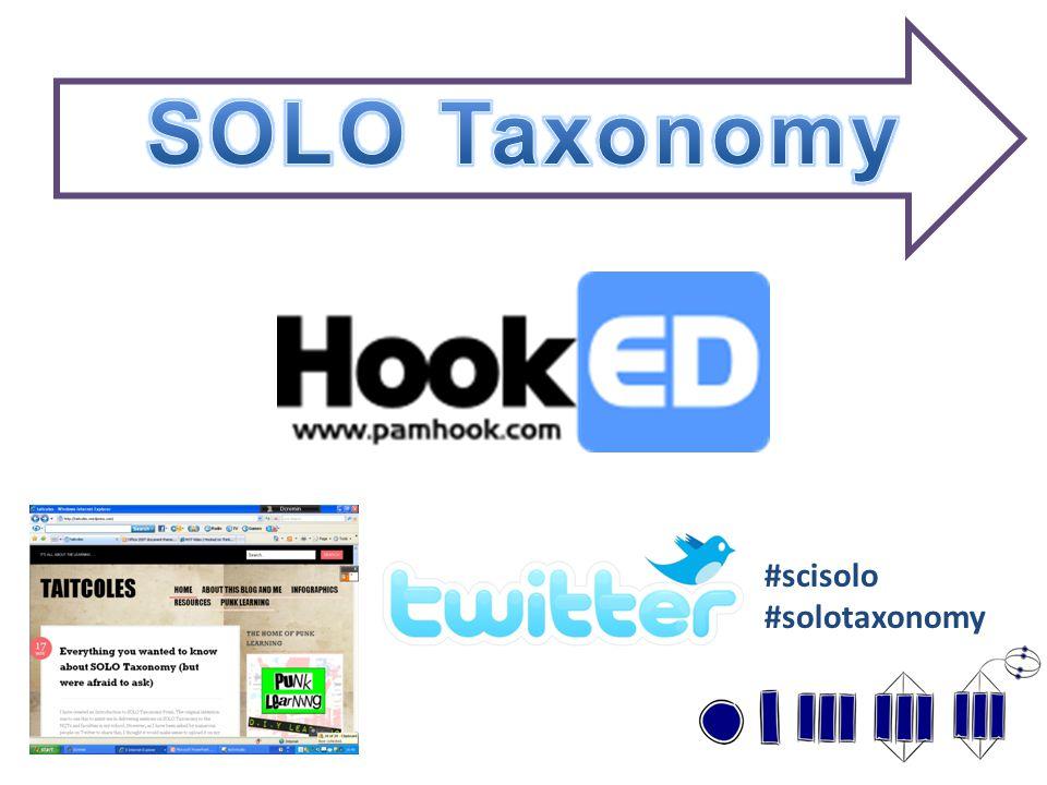 #scisolo #solotaxonomy