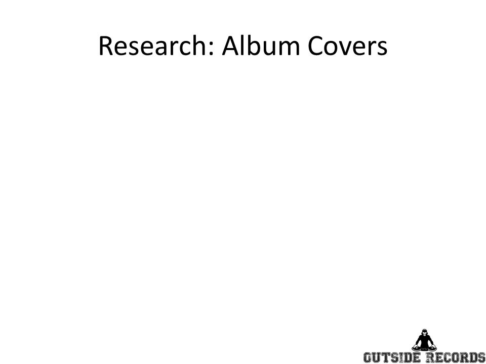 Research: Album Covers