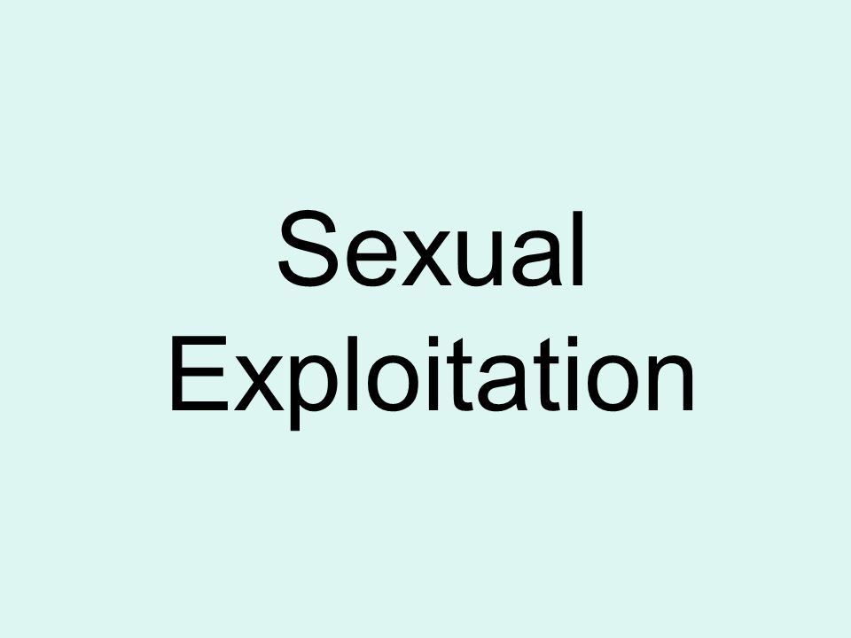 Exploitation definition