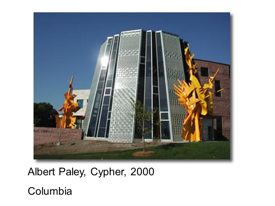 Albert Paley, Cypher, 2000 Columbia