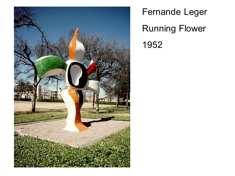 Fernande Leger Running Flower 1952